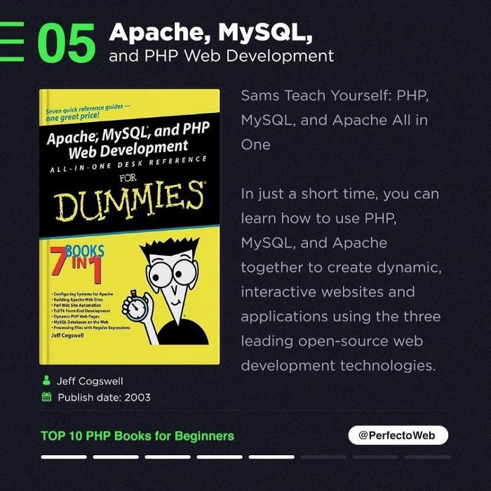 Apache, MySQL, and PHP Web Development