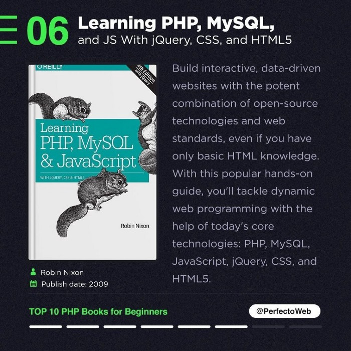 Learning PHP, MySQL- JS With